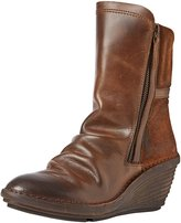 Fly London Womens Simi Camel Leather Boots EU
