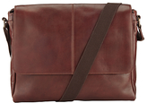 John Lewis Gladstone Messenger Bag, Brown