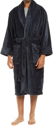 Daniel Buchler Plush Chevron Robe