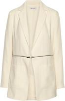 Alexander Wang Convertible crepe blazer