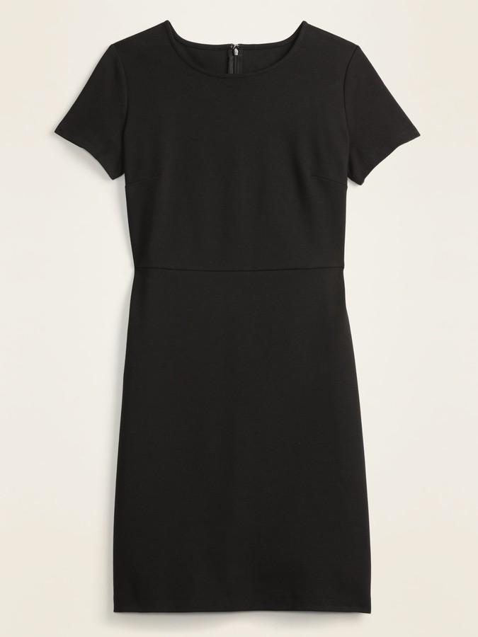 Old Navy Ponte-Knit Knee-Length Sheath Dress for Women