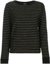 A.P.C. metallic stripe jumper