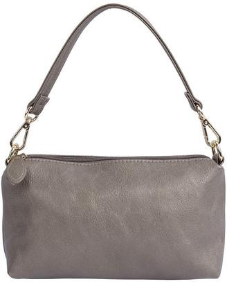 Sandler H-Minnie Pewter Bag