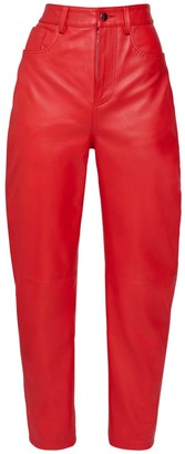 ATTICO Leather Slouchy Pants