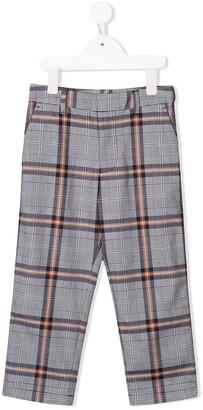 Calvin Klein Kids Check Print Trousers