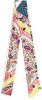 Etro Floral silk scarf