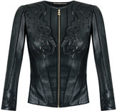 Versace laser cut jacket