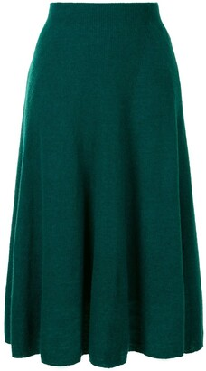 Onefifteen A-Line Pleated Skirt