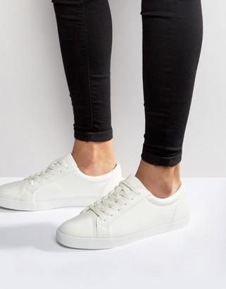 Asos DESIGN sneakers in white