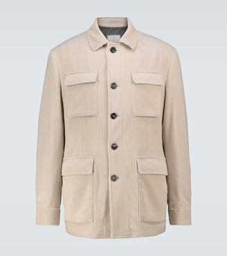 Brunello Cucinelli Corduroy jacket with padding