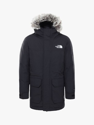 The North Face Boys' McMurdo Parka Jacket, Black