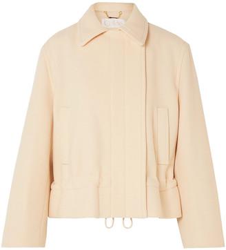 Chloé Cropped Wool-blend Jacket