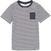 Sunuva Kids' Striped Short-Sleeve Rashguard