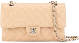 Chanel Pre Owned Double Flap Quilted shoulder bag
