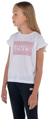 Levi's Girls 7-16 Sparkle Graphic Tee