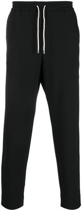 Kenzo Drawstring-Waist Tapered Trousers