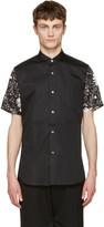 Junya Watanabe Black Contrast Sleeve Shirt
