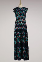 Peter Pilotto Silk fil coupe gown