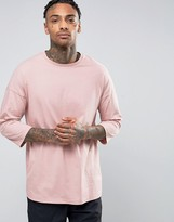 Asos Oversized 3/4 Sleeve T-Shirt