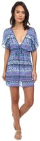 Badgley Mischka Adia Braided Tunic Cover-Up