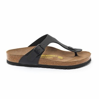 Birkenstock Gizeh Faux Leather Flip Flops