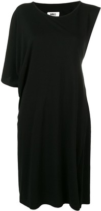 MM6 MAISON MARGIELA asymmetrical T-shirt dress