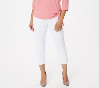 Belle By Kim Gravel Belle by Kim Gravel Petite Flexibelle Cuffed Jeans