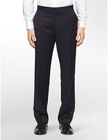 Calvin Klein Classic Fit Navy Wool Suit Pants