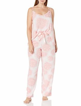 Mae Amazon Brand Women's Sleepwear Lightweight Printed Pajama Set