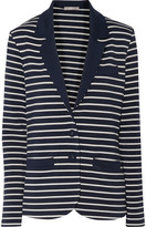 Tart Collections Striped stretch-modal jersey blazer