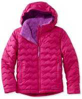 L.L. Bean Girls' L.L.Bean Fleece-Lined Down Jacket