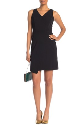 Nanette Lepore Faux Wrap Mini Dress