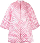 Siiilon oversized quilted coat