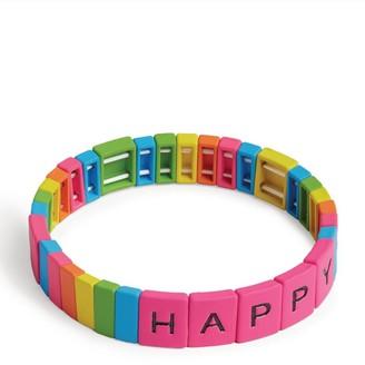 Bari Lynn Happy Stretch Friendship Bracelet