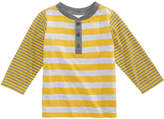 First Impressions Striped Henley T-Shirt, Baby Boys, Created for Macy's