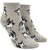 Forever 21 FOREVER 21+ Boston Terrier Print Socks