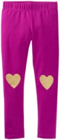 Crazy 8 Sparkle Heart Leggings