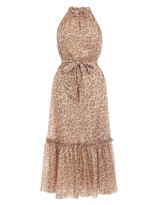 Zimmermann Kirra Tie Shoulder Maxi Dress