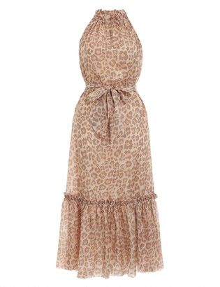 Zimmermann Kirra Tie Shoulder Maxi Dress