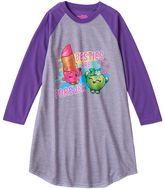 """Girls 4-12 Shopkins Lippy Lips & Apple Blossom """"Besties Are Forever"""" Nightgown"""