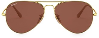 Ray-Ban RB3689 58MM Aviator Sunglasses