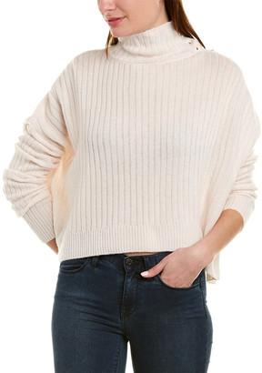 Generation Love Crop Wool & Cashmere-Blend Turtleneck