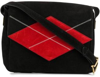 Céline Pre Owned 1980/1990s Pre-Owned Diamond Patch Shoulder Bag