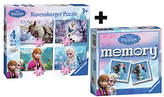 Ravensburger Disney Frozen 4 in a box Puzzle & Mini Memory