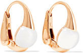 Pomellato M'ama Non M'ama 18-karat Gold Topaz Earrings - one size