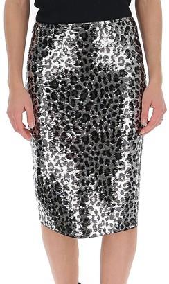MICHAEL Michael Kors Animal Print Skirt