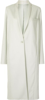 Sally LaPointe Brushed Wool Coat