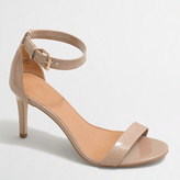 J.Crew Factory Patent high-heel sandals