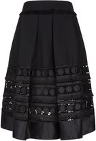 Ted Baker Laccey Circle Lace Panel Skirt