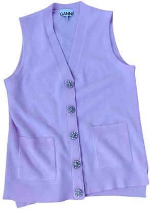 Ganni Pink Cashmere Knitwear